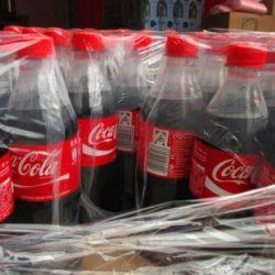 Botellas-plastico-Coca-Cola-envasadas